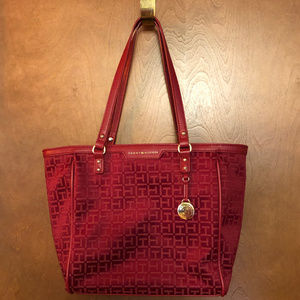 Tommy Hilfiger Burgundy Purse